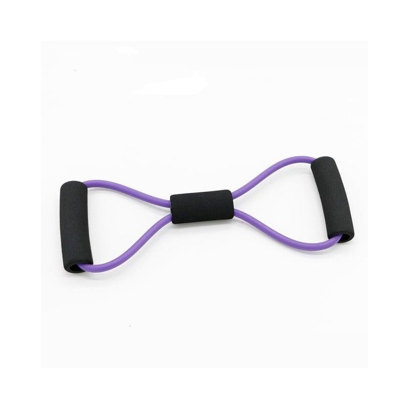 Nuevo Yoga gimnasio Fitness resistencia 8 palabras pecho expansor caucho tubo tirar cuerda entrenamiento músculo bandas elást...