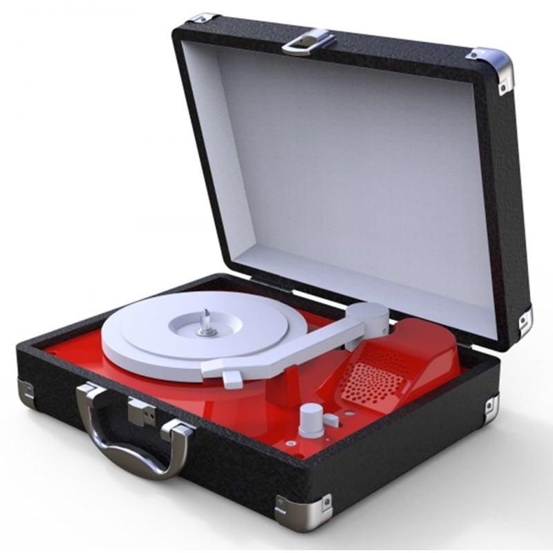 Tocadisco Mini Negro TT251 Tocadiscos y Tornamesas