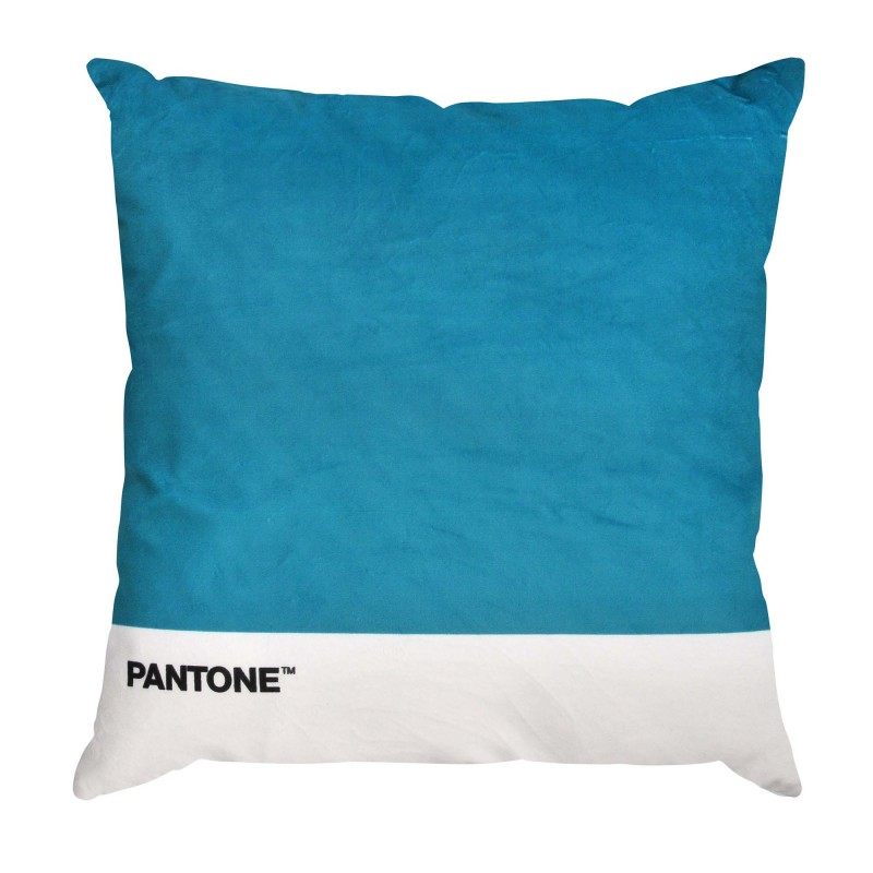 Cojin Pantone Velvet 40x40 Turquesa Inicio
