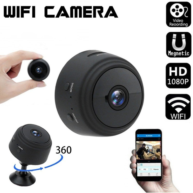 Mini cámara IP 1080P visión nocturna videocámara movimiento DVR Micro Cámara deporte DV Video pequeña cámara remota Monitor t...