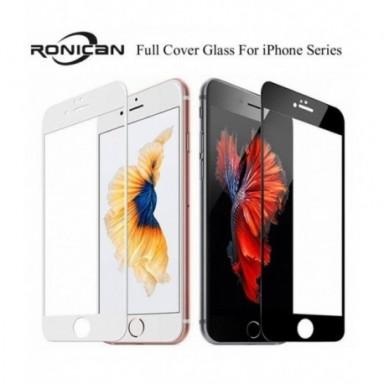 Cubierta de vidrio templado de cobertura completa 9H para iPhone 7 8 6 6s Plus Protector de pantalla película protectora para iP