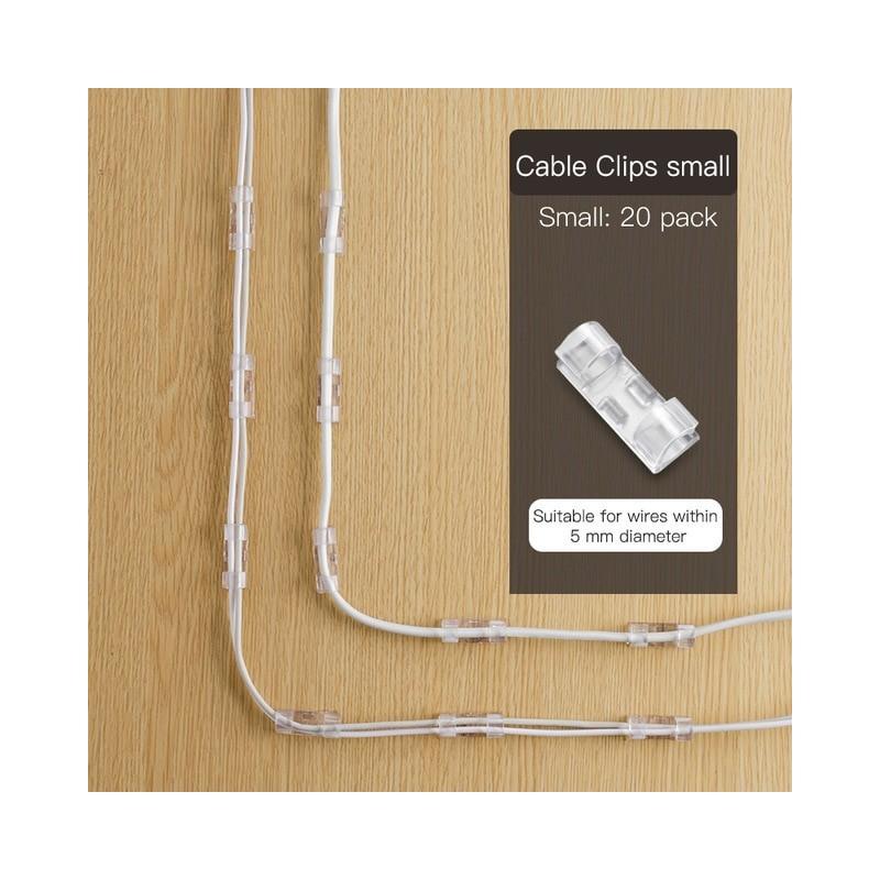 Adhesivo de pared, fijador de enchufe sin perforación, fijador de enchufe autoadhesivo para el hogar, organizador de cables, ...