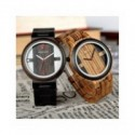 Reloj BOBO BIRD de madera para hombre, reloj de pulsera de cuarzo, nuevo diseño de relojes para hombre y mujer, reloj de made...