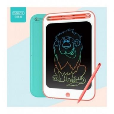 Beiens tableta de dibujo, juguetes educativos para niños de 3 años, pantalla colorida, manualidades de escritura para niños, jug