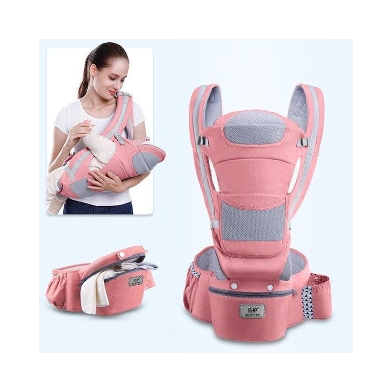 Portabebé de 0-3-48m, transportador de bebé ergonómico, portabebés para bebé, canguro ergonómico, eslinga para recién nacidos, E