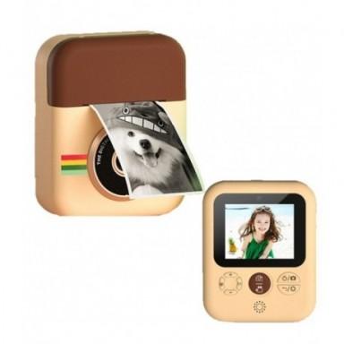 Cámara de impresión instantánea para niños, cámara Digital de 1080P con papeles de foto térmicos, cámara de juguete para niños p