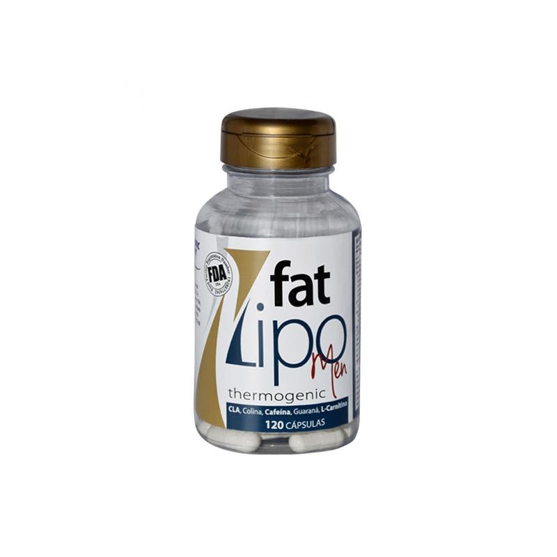 Lipo Fat Men 120 Caps-Scientific Body Suplementos Alimenticios