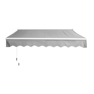 Toldo Retractil 3x2,5 mts Gris