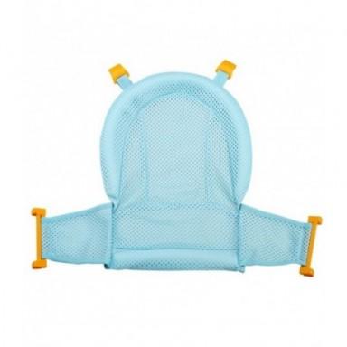 Alfombrilla de bañera para ducha de bebé, asiento de bañera antideslizante, alfombrilla de apoyo para recién nacido, soporte de