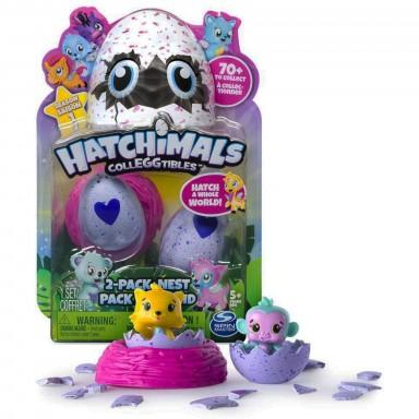 Hatchimals 2 huevos coleccionables
