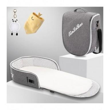 Cuna de cama portátil para bebé, transpirable, multifunción, de viaje, para recién nacidos mosquitera, cunas portátiles para cam