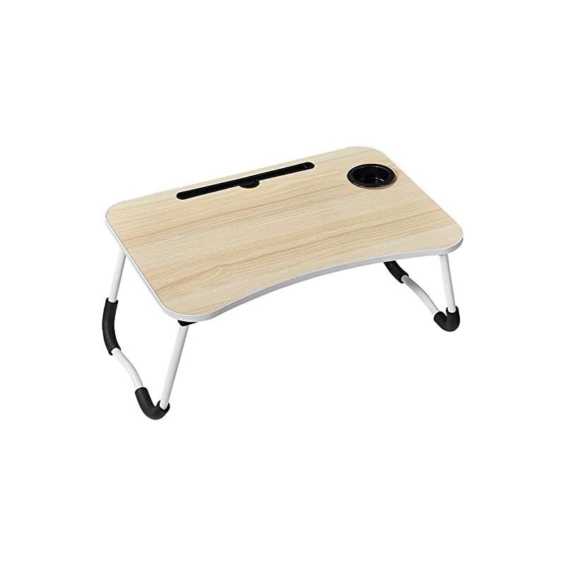 Mesa plegable para notebook madera Mesas