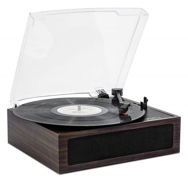 Tocadisco Bluetooth LP&No.1 Dark Wood