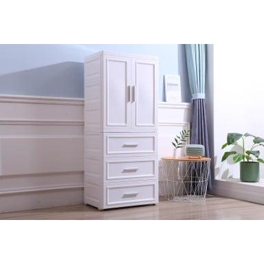 Closet Organizador Blanco 4 Niveles RXC8876