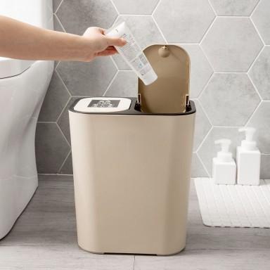 Basurero clasificador de basura 18 litros