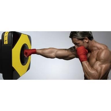 Boxing target wall