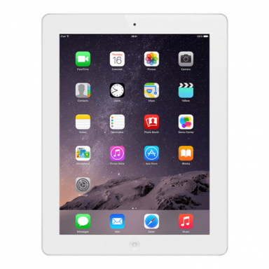 Apple iPad 4 Tablet 32GB Storage 1.40GHz 9.7 WiFi White reacondicionado