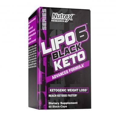 Lipo 6 Black Keto - 60 Caps