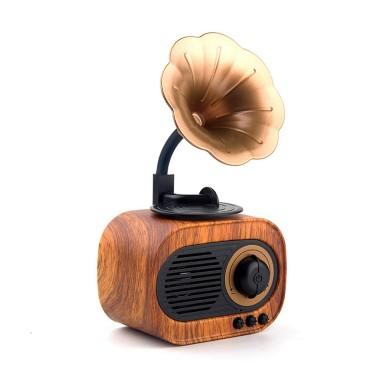 Mini Gramofono Retro Wireless