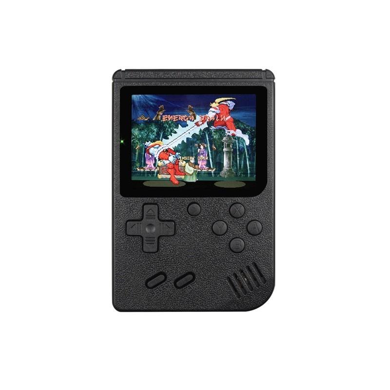 Miniconsola portátil Retro para niños, consola de videojuegos de 8 bits, 3,0 pulgadas, LCD a Color, 400 juegos integrados Int...