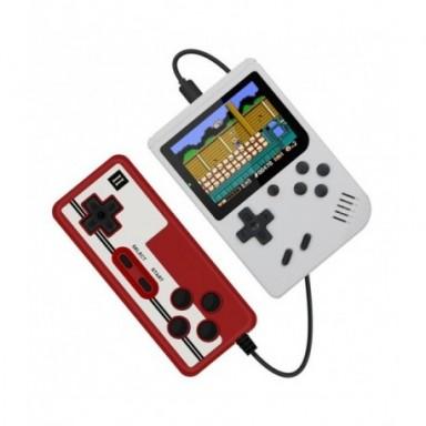 Miniconsola portátil Retro para niños, consola de videojuegos de 8 bits, 3,0 pulgadas, LCD a Color, 400 juegos integrados
