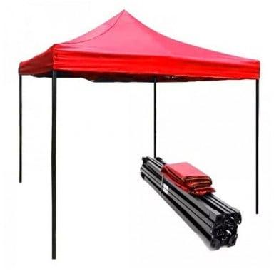Toldo plegable 2x3 metros. Color Rojo