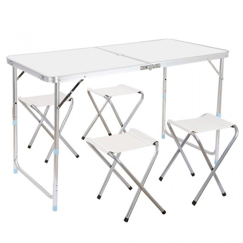 Mesa de camping plegable con sillas mesa picnic plegable for Mesa de camping plegable con sillas