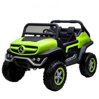 Auto a bateria buggy Mercedes Unimog Verde