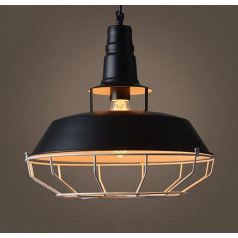 Lampara Colgante Milan Black Iluminación