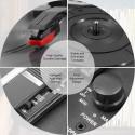 Tocadisco Bluetooth con maleta Scotish LPSC-022 Tocadiscos y Tornamesas