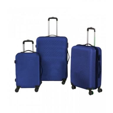 Set 3 maletas rigidas con giro 360°