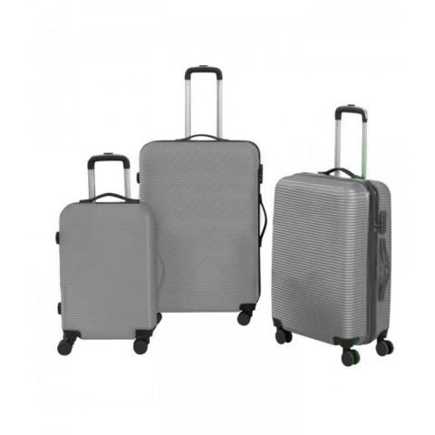 Set 3 maletas rigidas con giro 360° Maletas