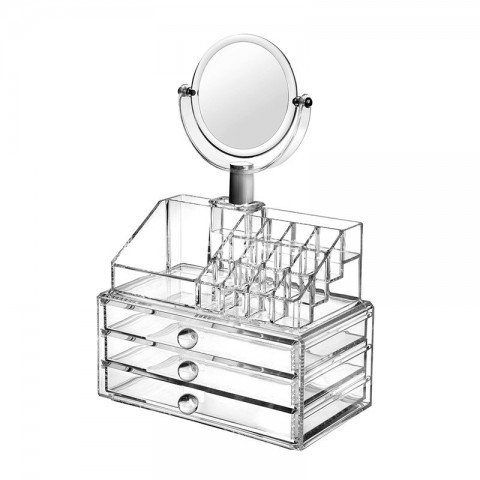 Organizador de maquillaje de acrilico Belleza