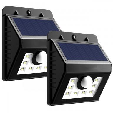 Foco solar 8 LED