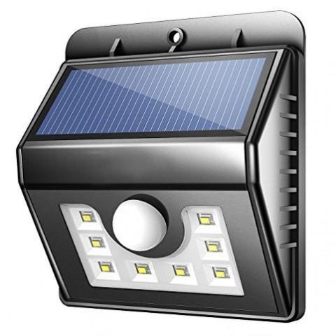 Foco solar 8 LED Inicio