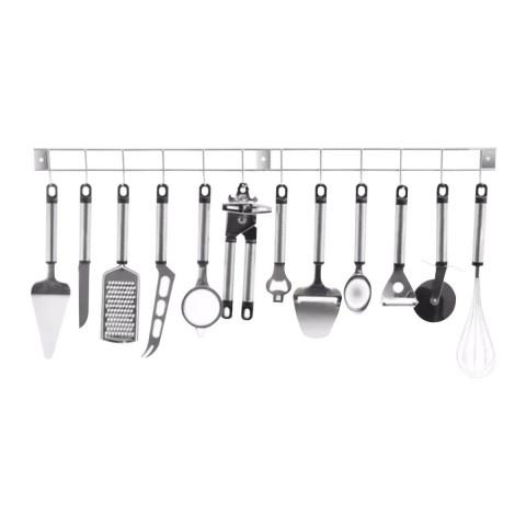 Set 12 utensilios de cocina + Colgador Hogar