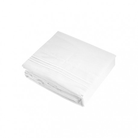 Set de sabanas Biancobelo serie supreme 1800 en color a elección Textil
