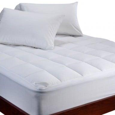 Cubrecolchón de lujo Gusset marca Biancobelo