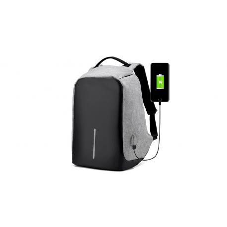 Mochila Antirrobo + extension USB Inicio