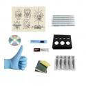 Kit Tatuaje 2 Máquinas 40 Tintas 20 Agujas Tecnología & Audio