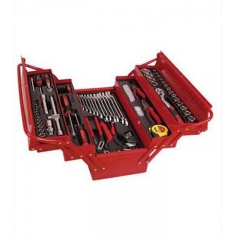 Caja de herramientas metalica 86 piezas Hogar