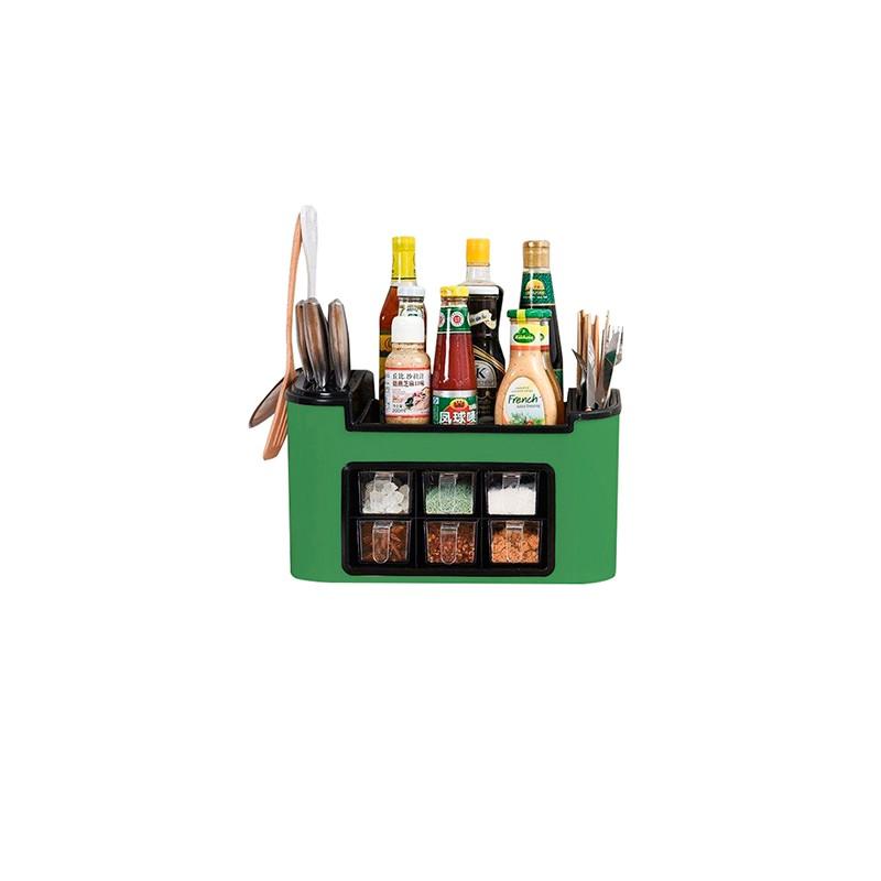 Organizador para especias y utensilios de cocina el for Organizador utensilios cocina