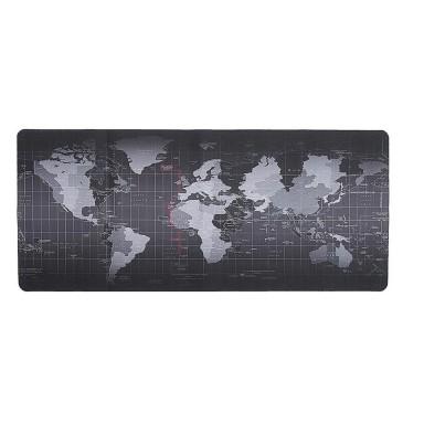 Mouse Pad Gamer Diseño Mapa Mundo Tecnología & Audio