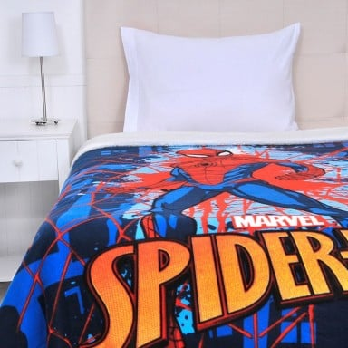 Frazada Polar Sherpa Spider Man