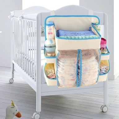 Organizador para pañales y insumos de bebe