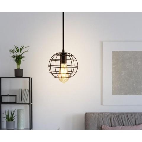 Lámpara Metálica Circular Iluminación