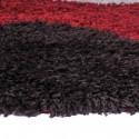 Alfombra Shaggy Roma 50x90 Círculos Rojo Alfombras