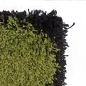 Alfombra Shaggy Roma 200x285 Piedras Verde Alfombras