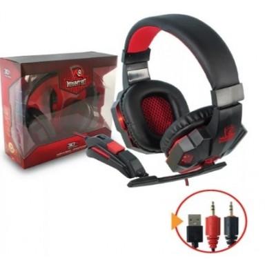 Audifono Gamer 3DFx. Incluye microfono