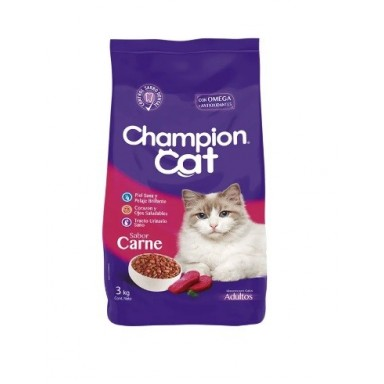 Champion Cat. Pack 6 x 3 Kgr